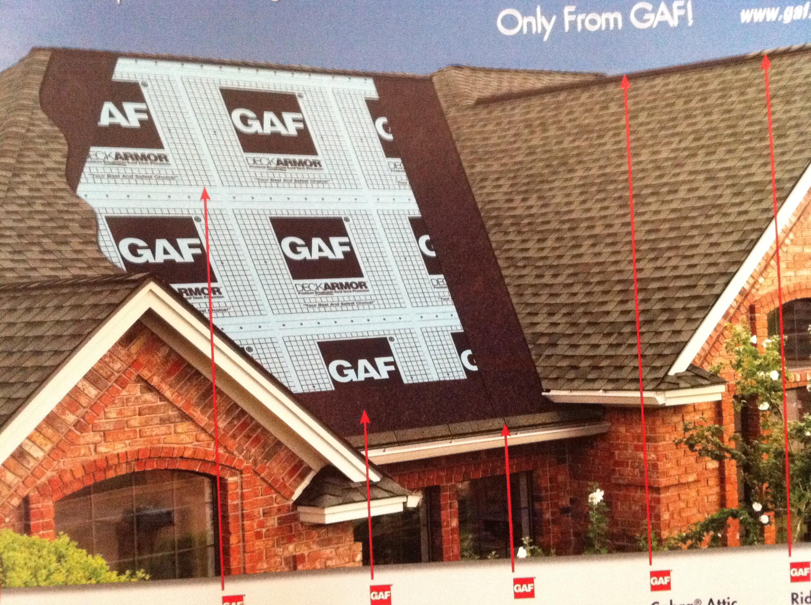 New GAF Roof install